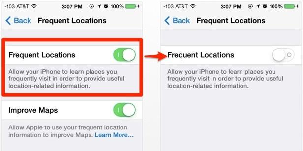 iphone-veel-bezochte-locaties