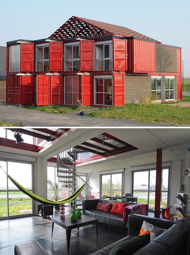 zeecontainer huis