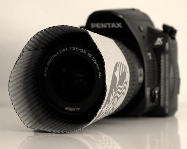 zonnekap camera