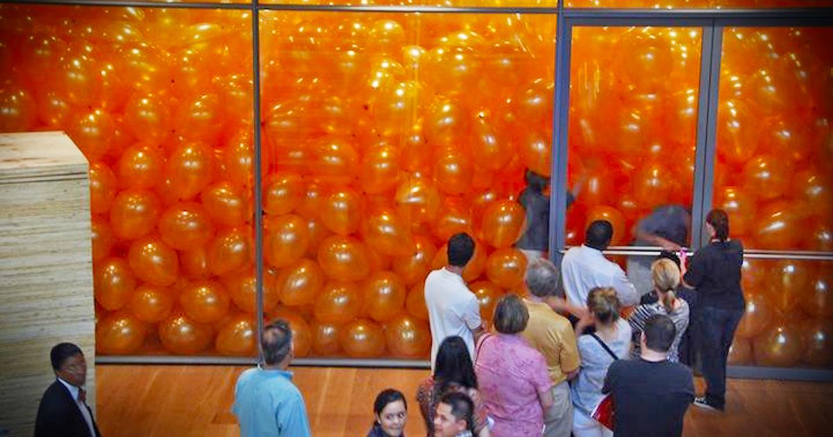 kamer-vol-ballonnen