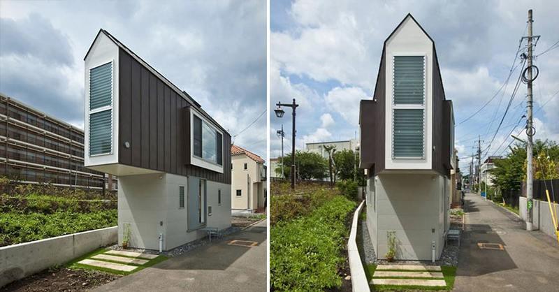 Dit Kleine Huis Lijkt Vreemd Van De Buitenkant Maar Zodra