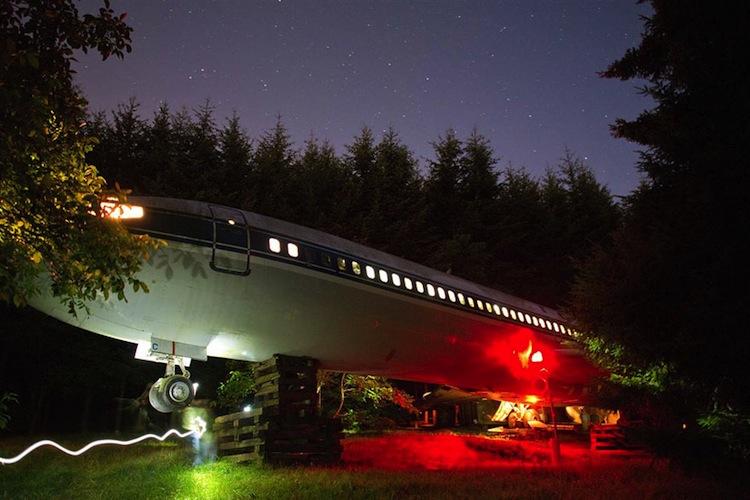 vliegtuig-nacht