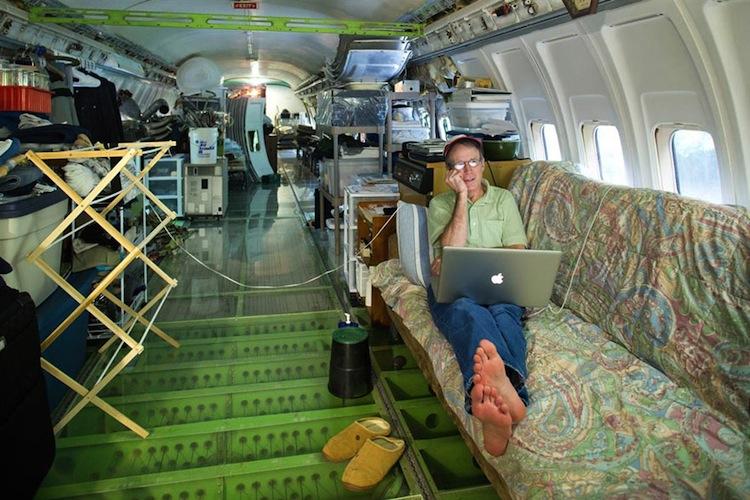 vliegtuig-woonruimte