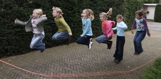 touwtje-springen