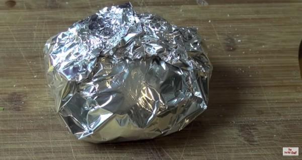 aluminiumfolie aluminium folie brood