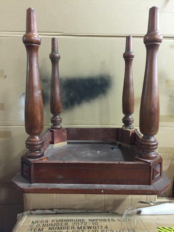 bijzettafel tafel hout