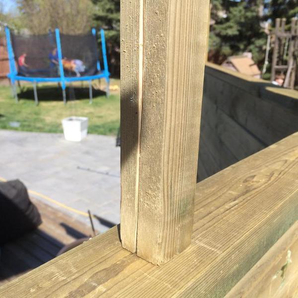 houten groeven