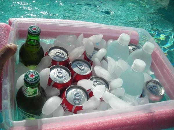 zwembad box