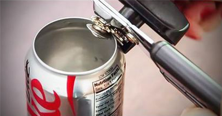 aluminium blikje verpakking blik