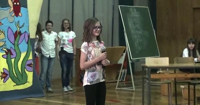 school optreden zingen