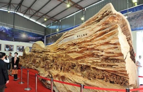 sculptuur hout snijwerk kunst