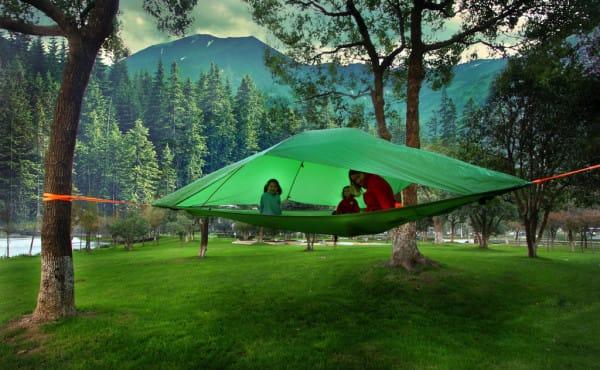 vrij kamperen vakantie