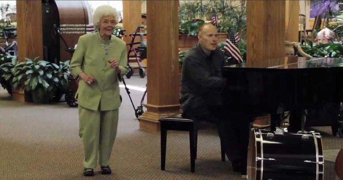 senioren muziek bejaardentehuis