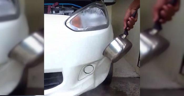 autoschadebedrijf auto uitdeuken schade bumper