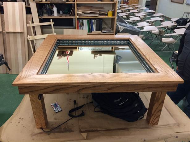 salontafels glas design