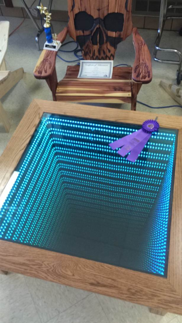 LED verlichting tafel