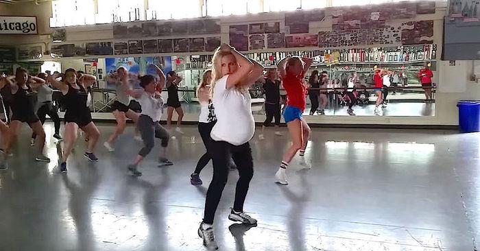 dansen zwanger zwangerschap