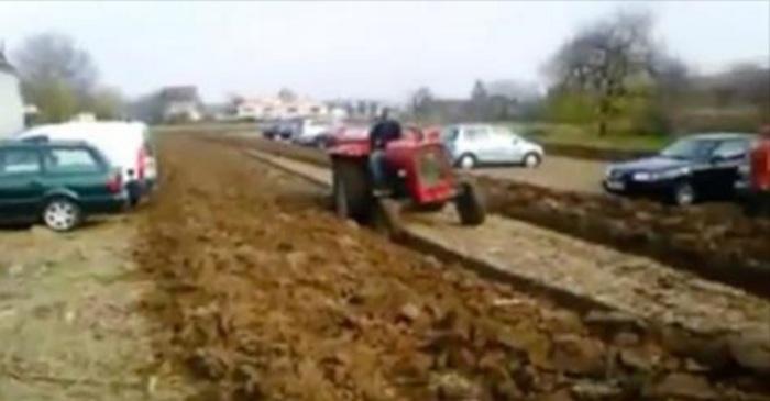 tractor, land omploegen, john deere