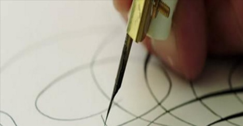 kalligrafie, kalligraferen, tekenen, kunst, schrijven