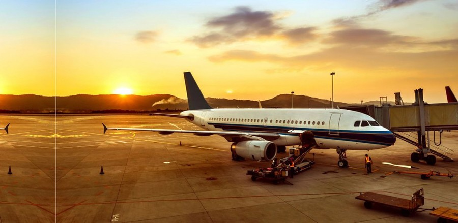 vliegtuig, vliegreis, piloot, stewardess