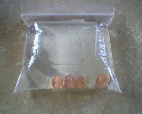 plastic zakje