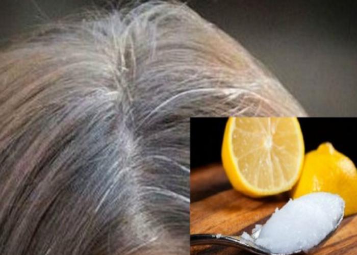 Kom binnen enkele dagen van grijze haren af door deze 2 dingen in je haar te masseren!